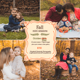 Fall Mini Sessions CT Fall Mini Session Photographer Elizabeth Frederick Photography www.elizabethfrederickphotography.com