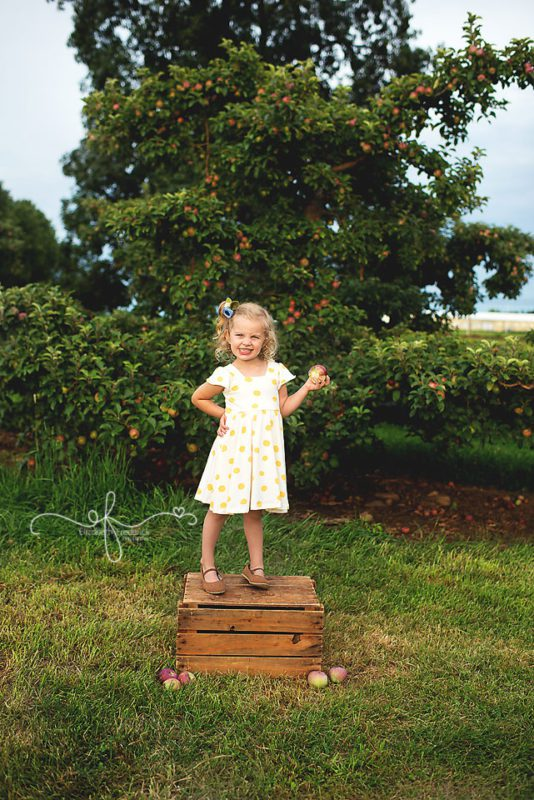 Hickory Hills Orchard Session | Apple Orchard Session | CT Baby Photography | CT Baby Photographer Elizabeth Frederick Photography