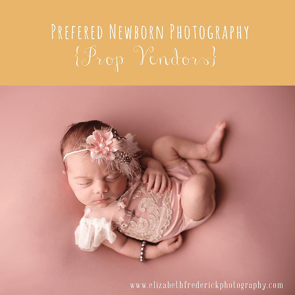 Favorite Newborn Photography Prop Vendors