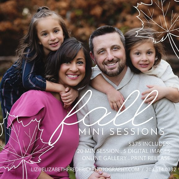2020 Fall Mini Session CT Family & Baby Photographer Elizabeth Frederick Photography