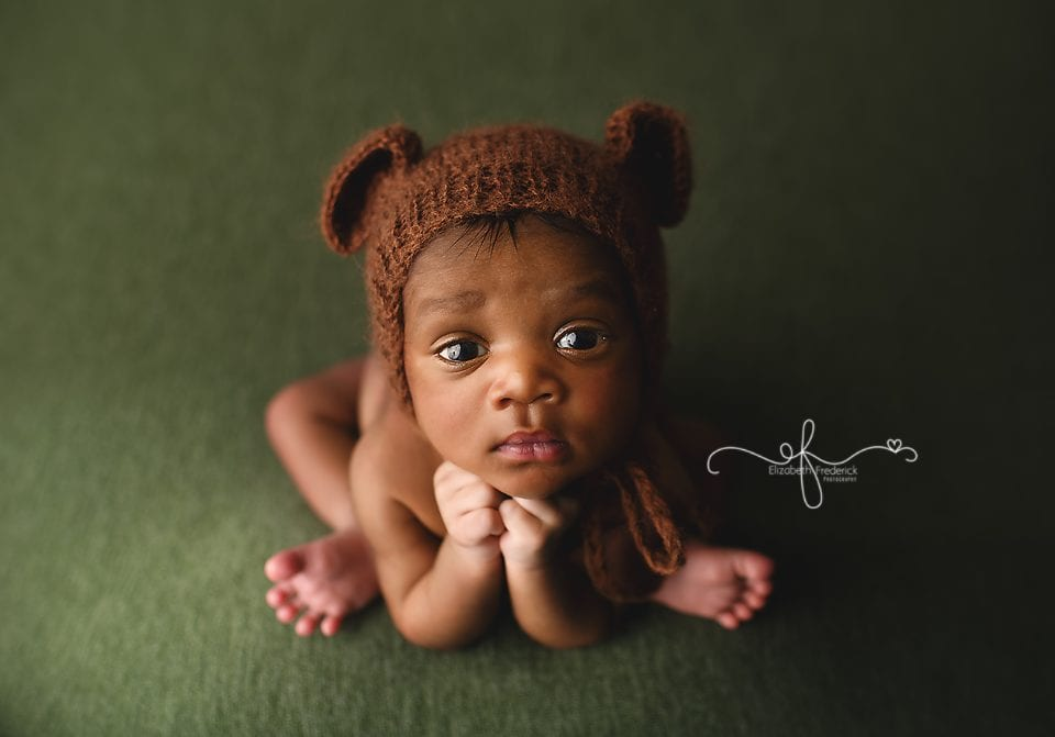Awake Newborn | East Hartford CT Newborn Photographer Elizabeth Frederick Photographer